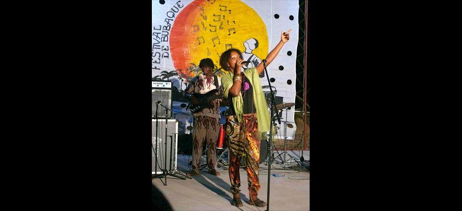 Karyna Gomes, Festival de Bubaque (Bijagos Archipelago, Guinea-Bissau), Photo by Gill Harvey ©